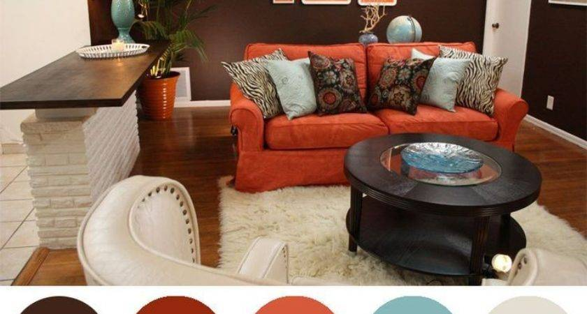 Accent Colors Brown Lovable Walker Living Room