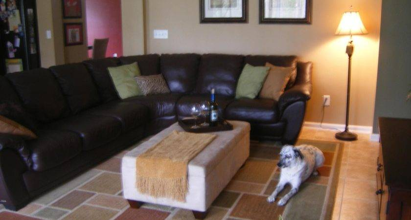 Accent Pillows Brown Leather Sofa Ideas