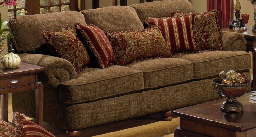 Accent Pillows Brown Sofa Best Decorative