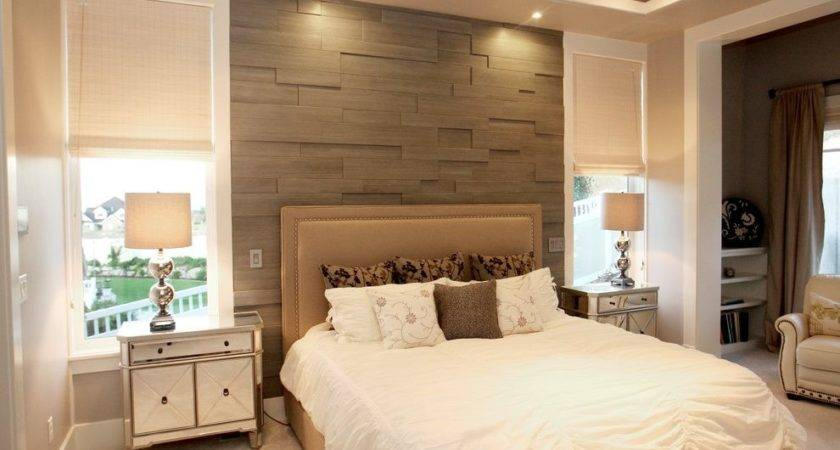 Accent Wall Ideas Bedroom Contemporary Textured