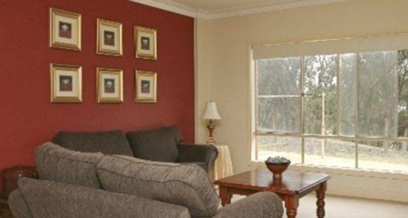 Accent Wall Living Room Thinking Hunter Green