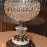 Accurate Casting Vintage Pressed Glass Pedestal