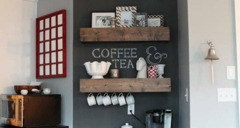 Add Coffee Beverage Station Your Kitchen Modernize