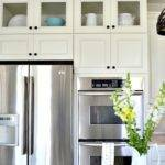 Add Glass Inserts Into Your Kitchen Cabinets