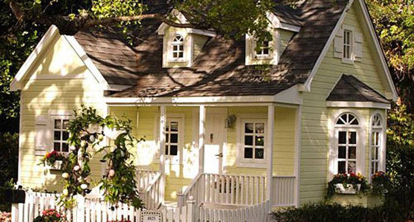 Adorable Cottages Porches Gardens