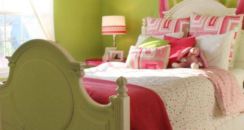 Adorable Pink Green Bedroom Designs Girls Rilane