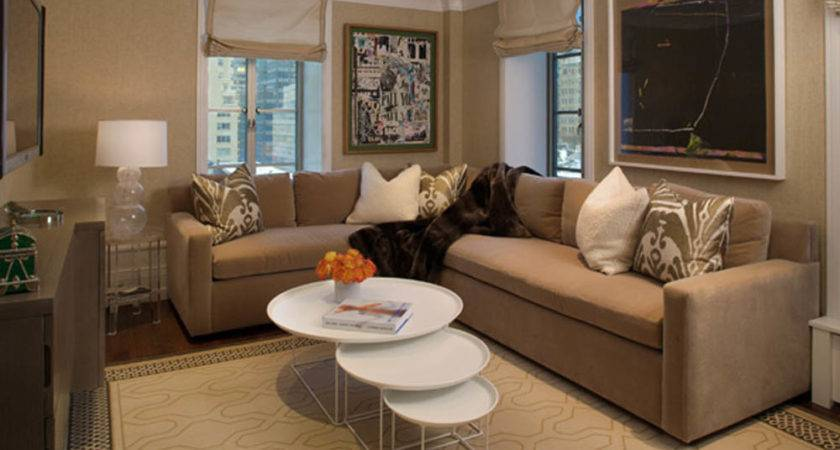 Airy Brown Cream Living Room Designs Inspired