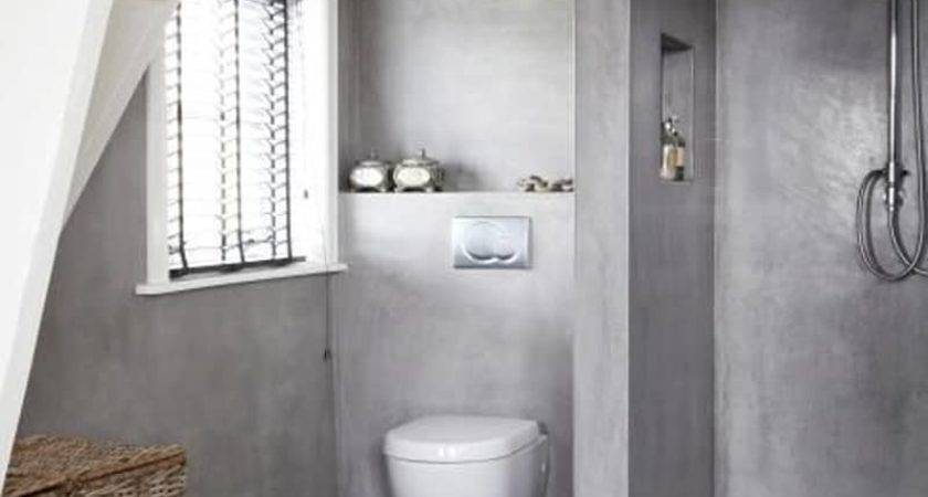 Amazing Bathroom Designs Concrete