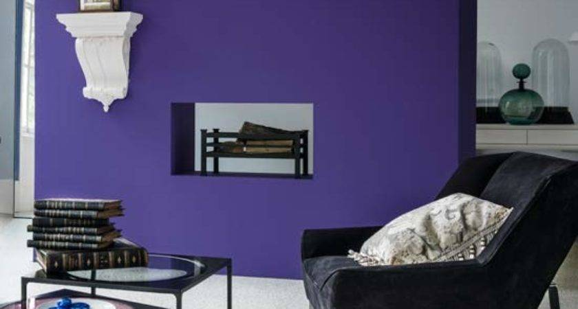 Amazing Colours Statement Wall Wow Ideal Home
