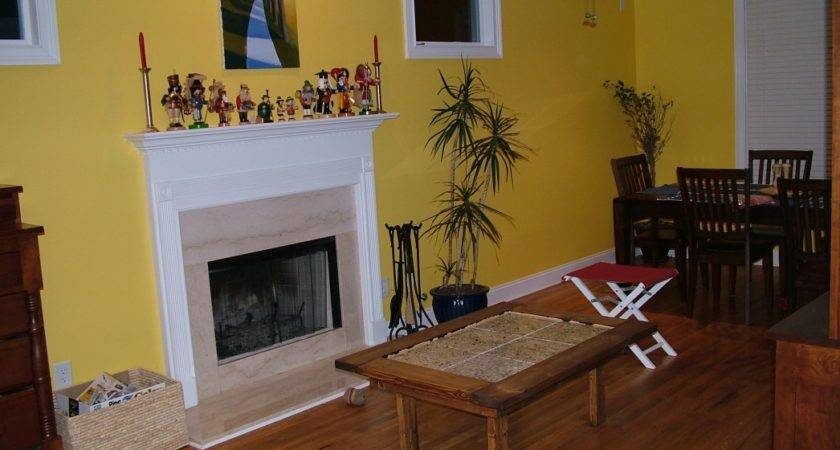 Amazing Living Room Accent Wall Colors Yellow