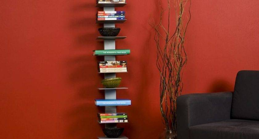 Amazon Sei Metal Spine Style Book Tower Bookcases
