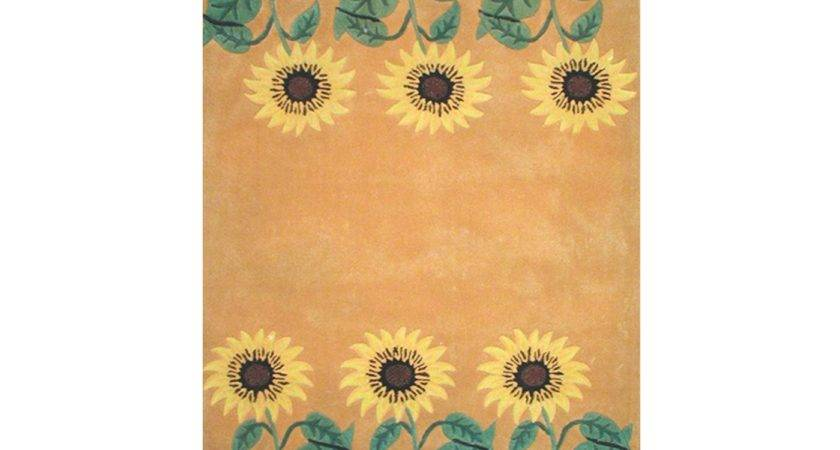 American Home Rug Bright Yellow Green Area