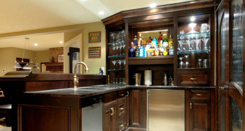 American Style Shaped Home Bar Decoration