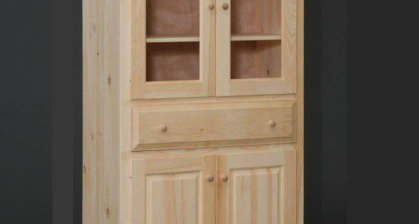 Amish Built Door Pantry Cabinet