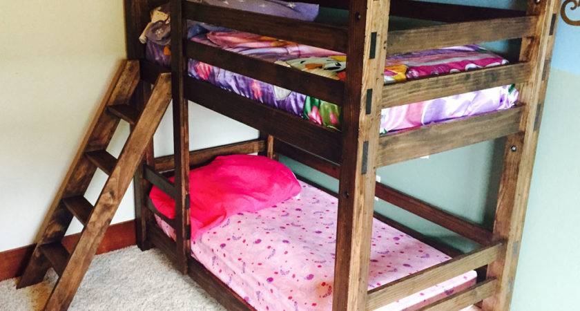 Ana White Classic Bunk Beds Diy Projects