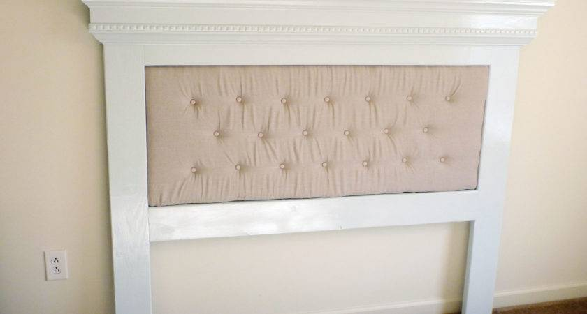 Ana White Our Mantel Moulding Headboard Unique