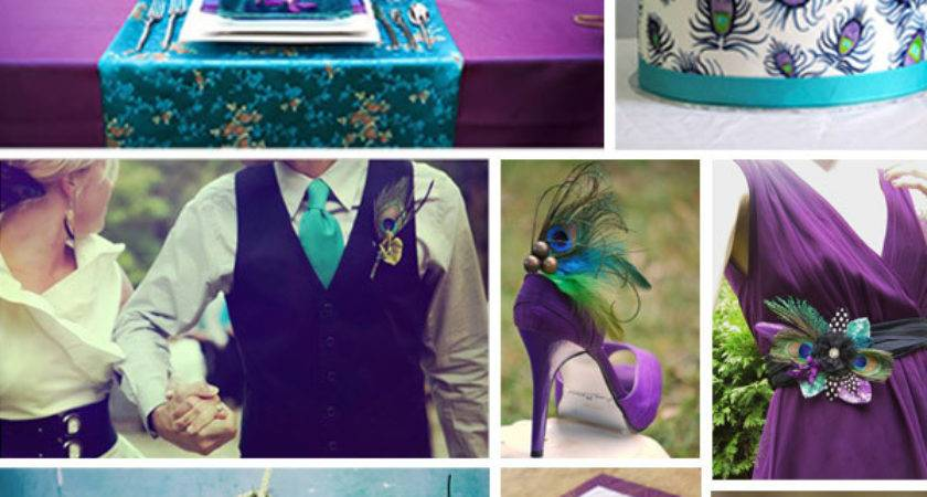 Angee Eventions Peacock Themed Wedding