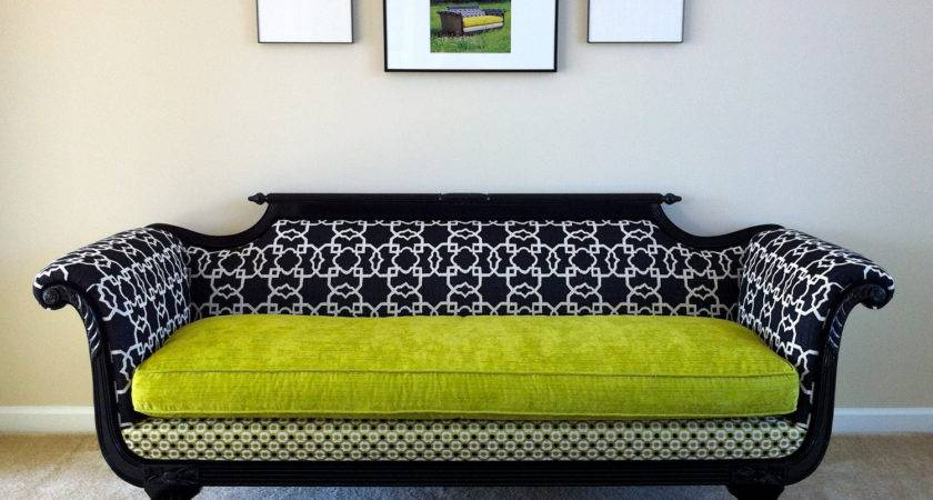 Antique Duncan Phyfe Sofa Redesigned Modern Times