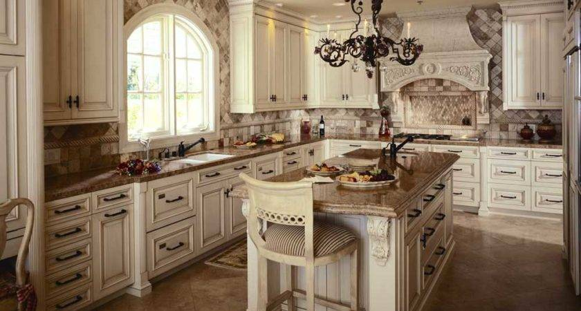 Antique White Kitchen Cabinets Improving