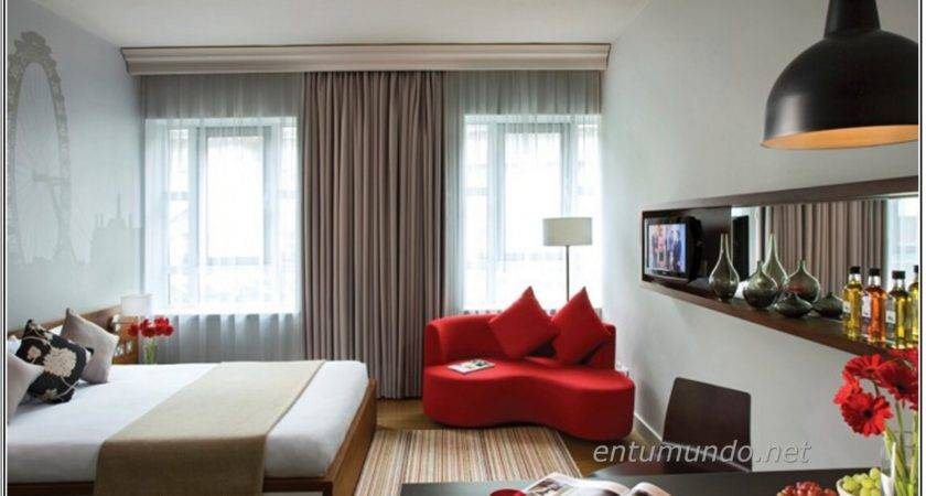 Apartment Bedroom Red Rugs Within Beautiful Interior