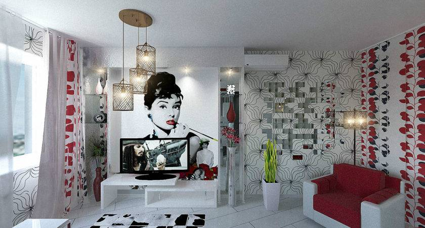 Apartment Design Young Man Woman
