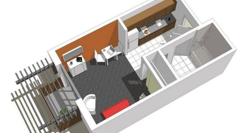 Apartment One Bedroom Efficiency Plans Soapp