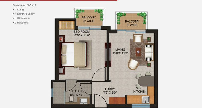 Apartment Plan Apartments Simple Decor Floor Plans One