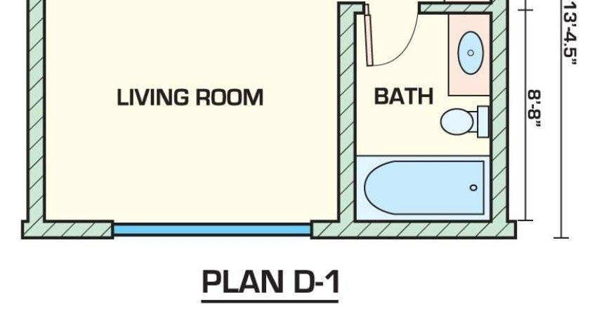 Apartment Small Bedroom Floor Plans