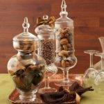 Apothecary Jar Fillers Fall Halloween Ideas Setting