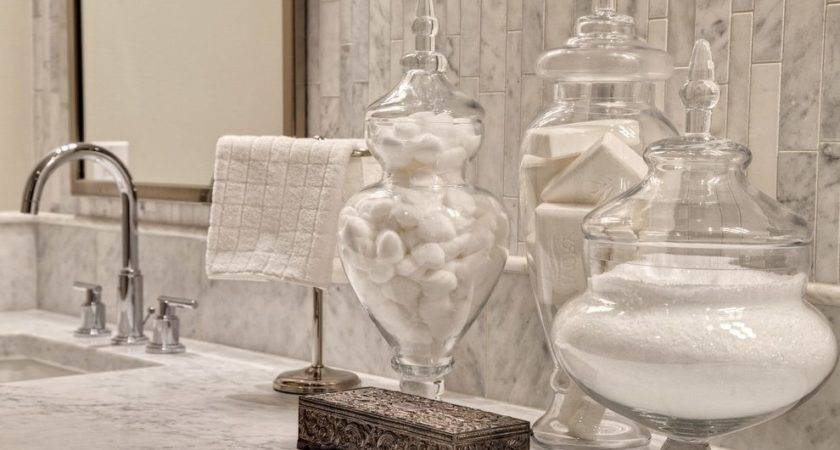 Apothecary Jars Decorating Dining Room Traditional