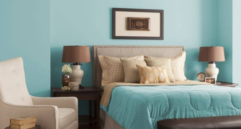 Aqua Blue Bedroom Glidden Paint Color Palette