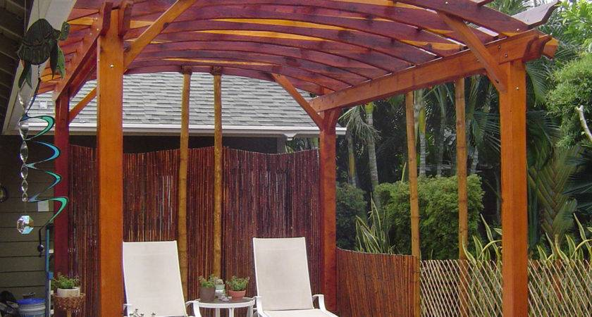 Arched Open Sky Pergolas