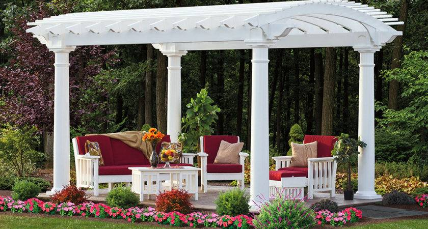 Arched Pergolas Recreation Unlimited