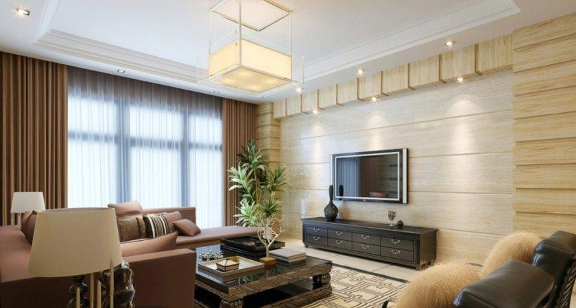 Arched Wall Design Living Room House