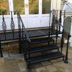 Architectural Metalwork Compliment York Stone
