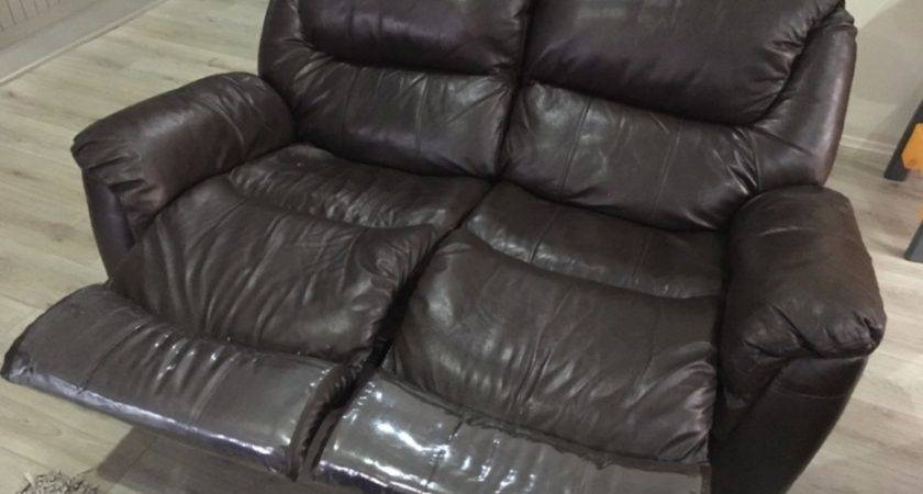 Archive Lounge Suite Dark Brown Leather Reclines
