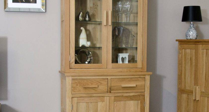 Arden Solid Oak Dining Room Furniture Small Dresser Glazed