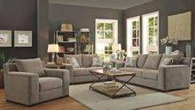 Ashley Grey Fabric Living Room Furniture
