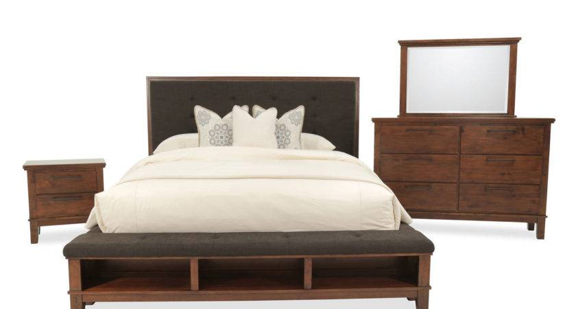 Ashley Ralene Brown Bedroom Set Mathis Brothers Furniture