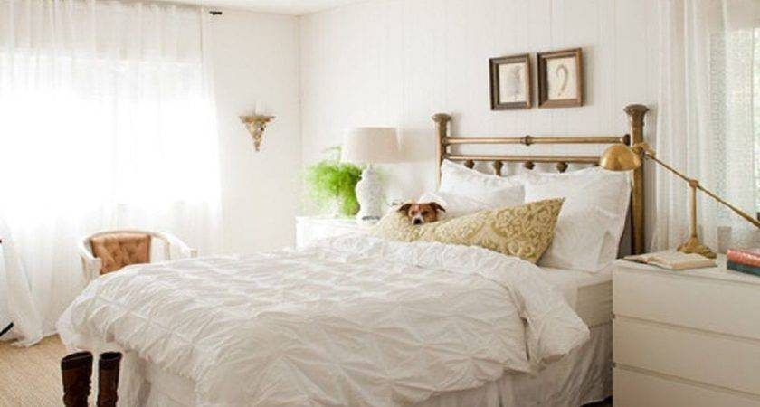 Attractive Decorating Bedroom White Walls