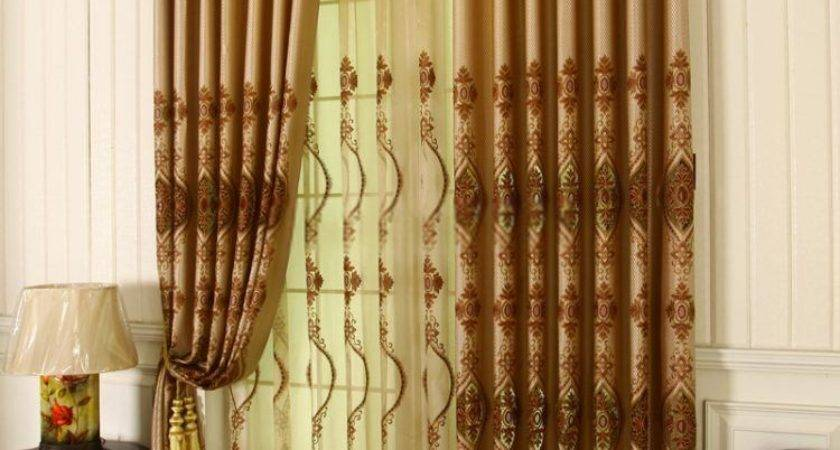 Attractive Living Room Curtains