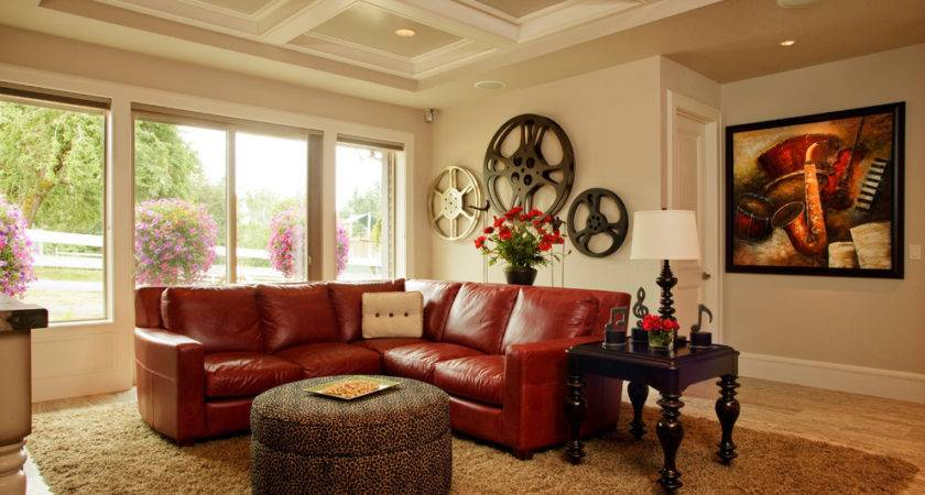Awe Inspiring Red Sofa Decorating Ideas