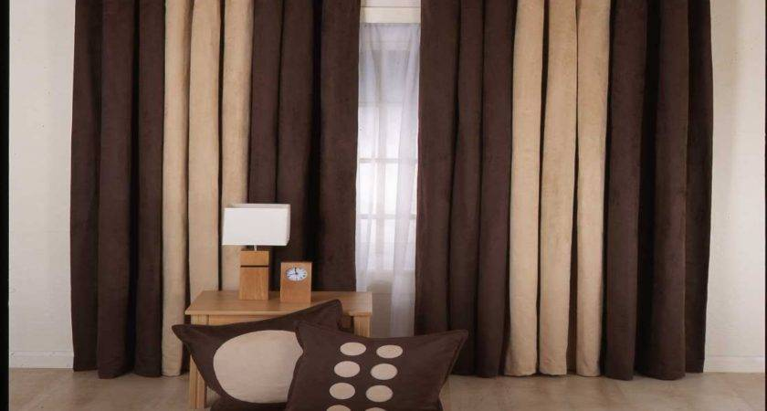 Awesome Brown Curtains Design Doherty Living