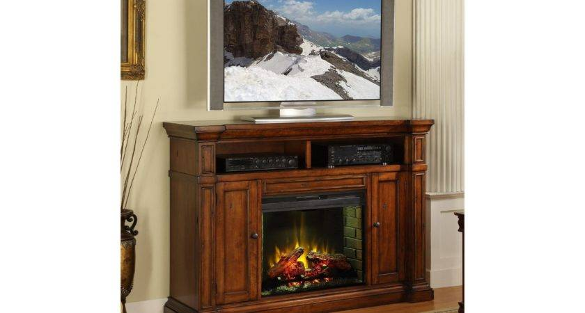 Awesome Corner Electric Fireplace Wooden Houses