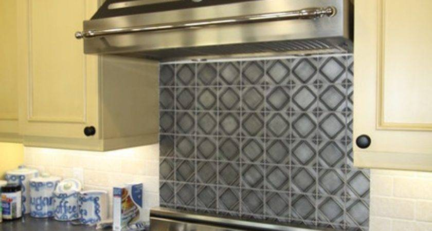 Awesome Kitchen Backsplash Options Metal Home Design