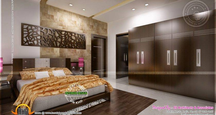 Awesome Master Bedroom Interior Kerala Home Design