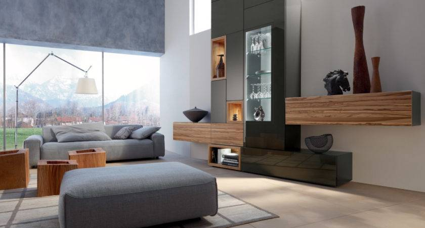 Awesome Minimalist Living Room Grey Sofa Wooden