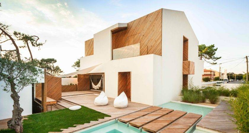Awesome Modern Homes Pool Portugal Features