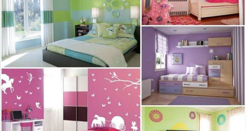 Awesome Paint Color Ideas Girls Room