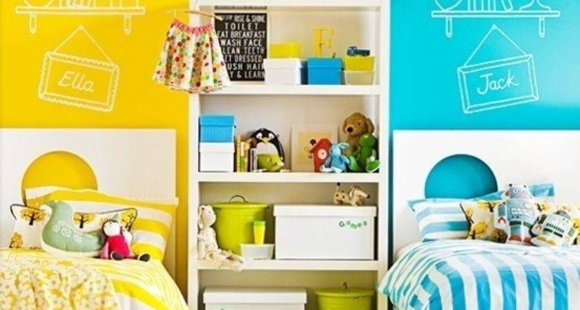 Awesome Shared Kids Rooms Design Dazzle